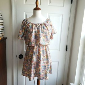 Alice Moon Ditsy Floral Dress Size S Peasant Boho